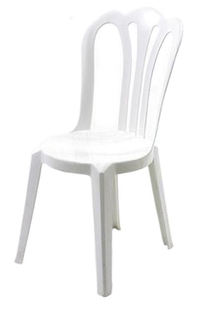 Rental chairs allied party rentals - White resin stacking chairs ...