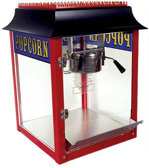 popcorn machine rental virginia