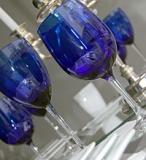 12 oz. Cobalt Goblet & 10.5 oz. Cobalt Wine
