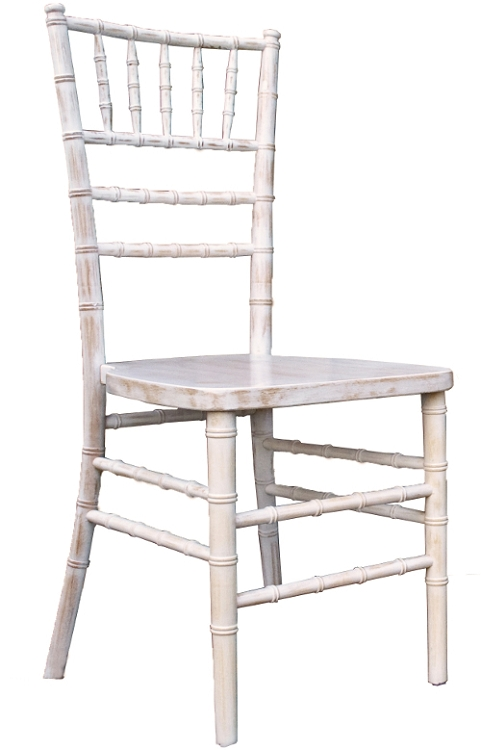 antique white chiavari