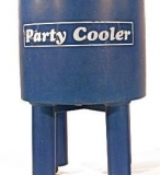 Party Cooler on Wheels