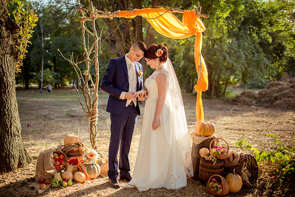 Ideas for a Festive Fall Wedding
