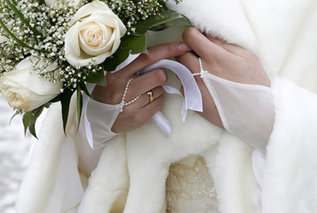 Winter Wedding Hacks to Make Your Day Go Off Without a Hitch