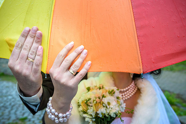 Rain On Your Wedding Day: 7 Wedding Superstitions Explained