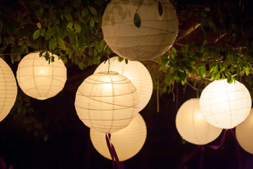 How to Light Up a Tent for an Outdoor Wedding