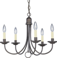 Chandelier – Antique Bronze