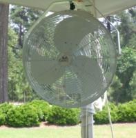 Tent Pole Fan – 18″