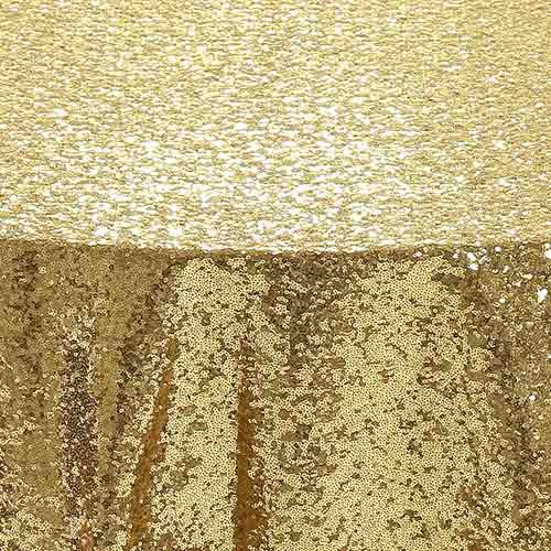 Gold Glimmer Sequin