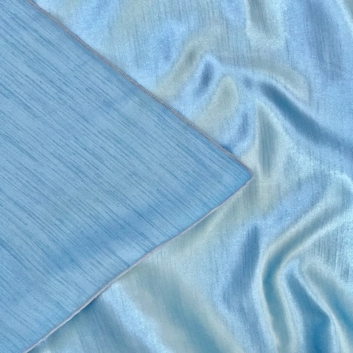 Light Blue Majestic/Dupioni