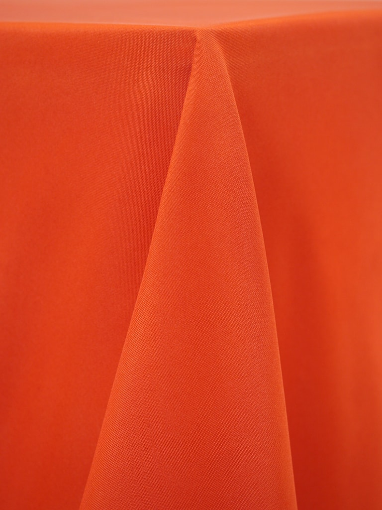Orange Spice Polyester Solid