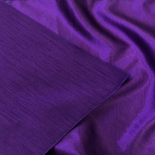 Purple Majestic/Dupioni