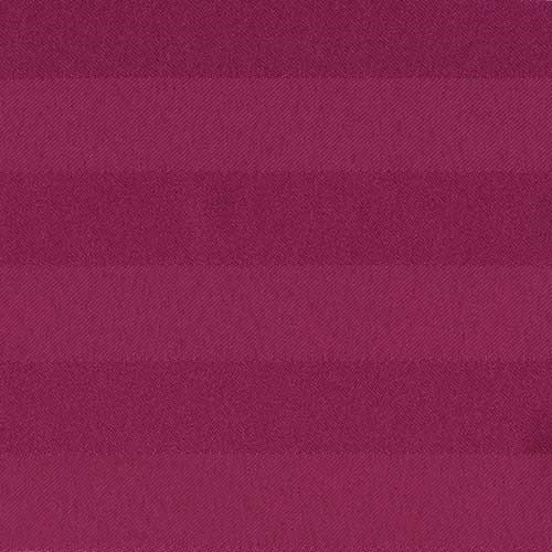 Raspberry Polyester Stripe
