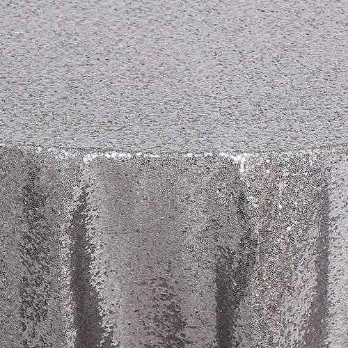 Silver Glimmer Sequin