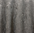 Silver Paisley Lace