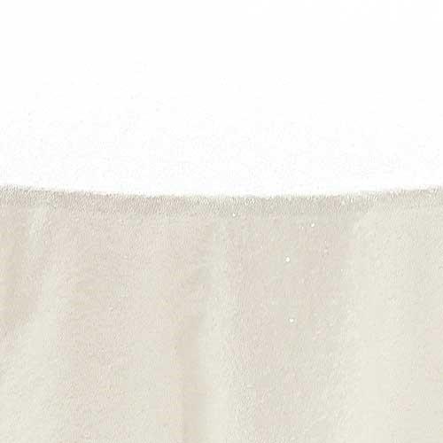 White Glimmer Sequin