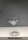 Champagne Saucer 4.5 oz.